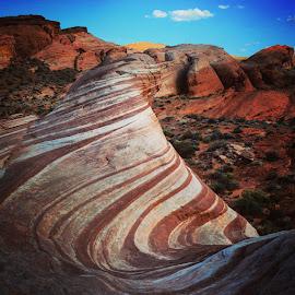 Nevada Wave by Solomen Flewellen - Landscapes Travel