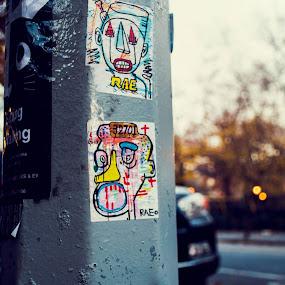 by Heather Hoppe - City,  Street & Park  Street Scenes (  )