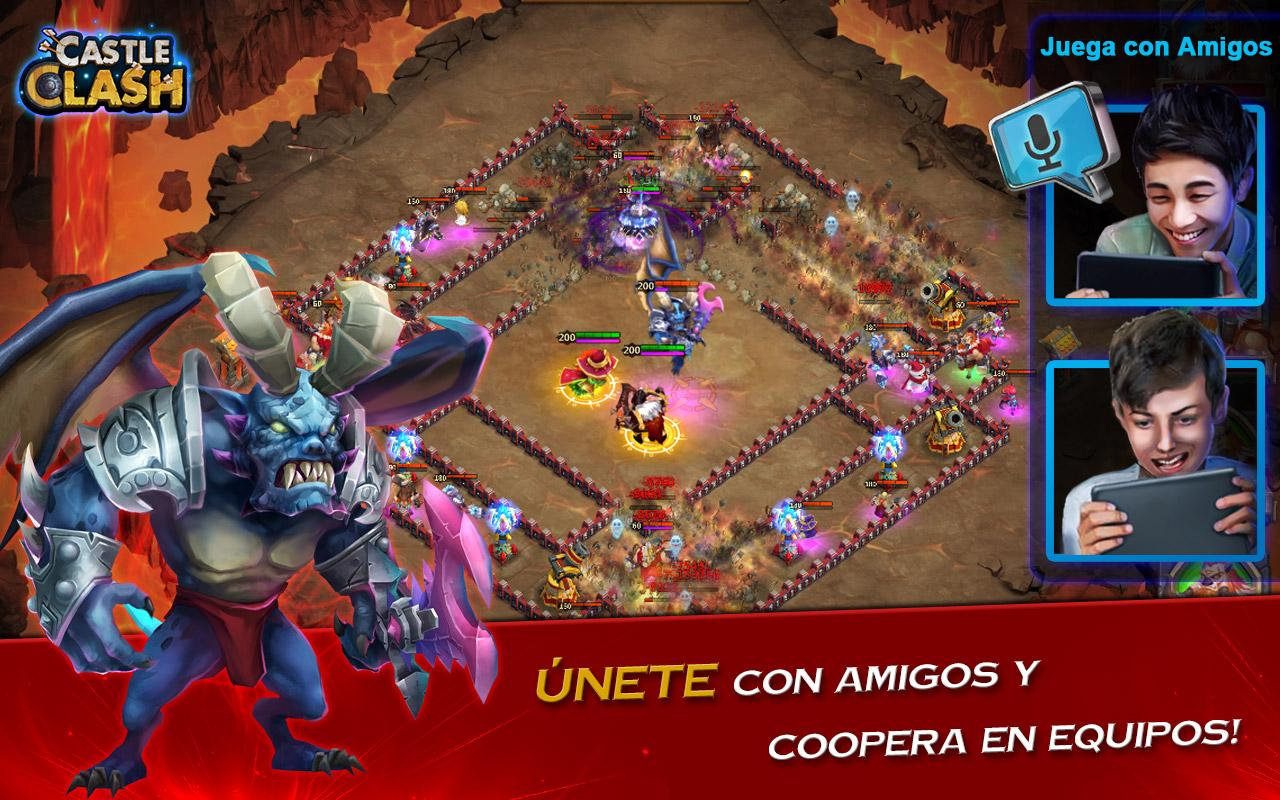 Castle Clash: Era de Bestias- screenshot