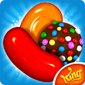 1.  Candy Crush Saga