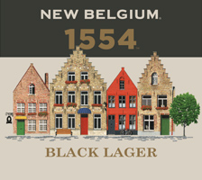 Logo of New Belgium 1554 Black Lager