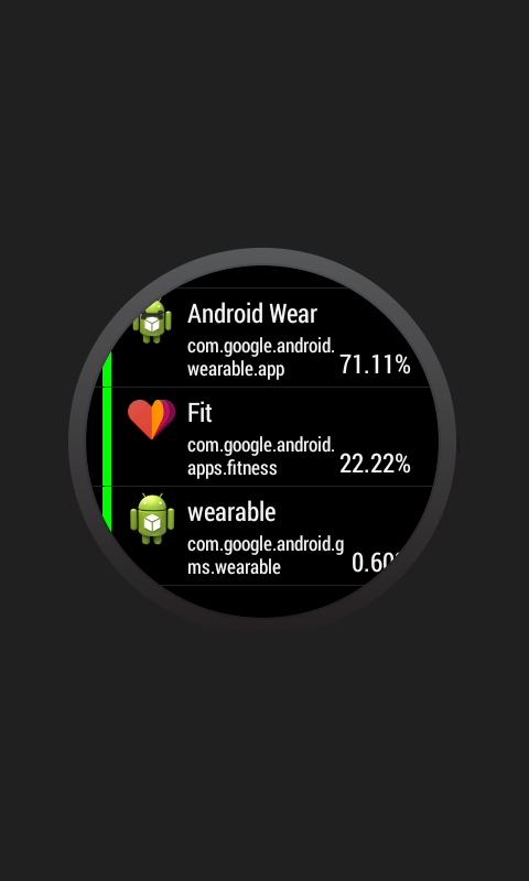 Battery Mix for Android Wear- screenshot