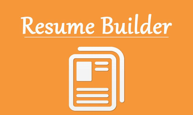 professional resume builder screenshot - Professional Resume Builders