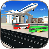Airport Bus Driving Service 3D