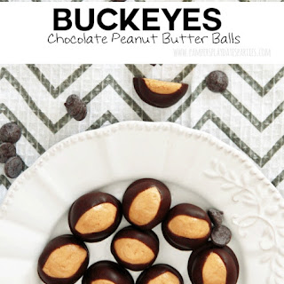 Buckeyes (Chocolate Peanut Butter Balls)