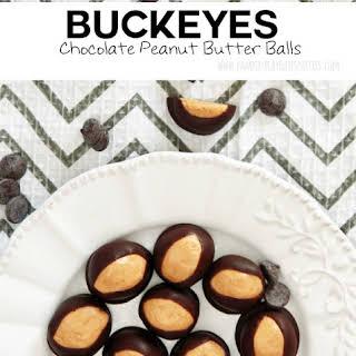 Buckeyes (Chocolate Peanut Butter Balls).