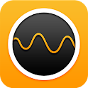 Brainwave-calm, stress relief icon