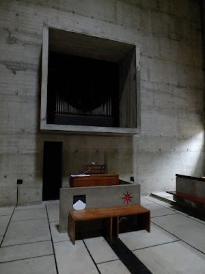 La Tourette - kościelne organy