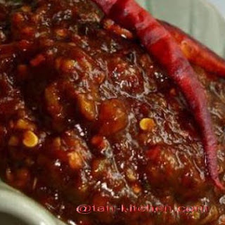 Roasted Chili Paste (Num Prik Pow)