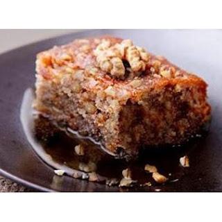 Walnut Cake (Greek Karidopita)