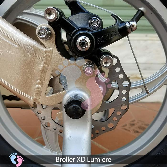 Xe đạp cho bé Broller XD Lumiere ss 9