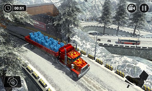 Offroad Cargo Truck Transport Driving Simulator 17 - náhled