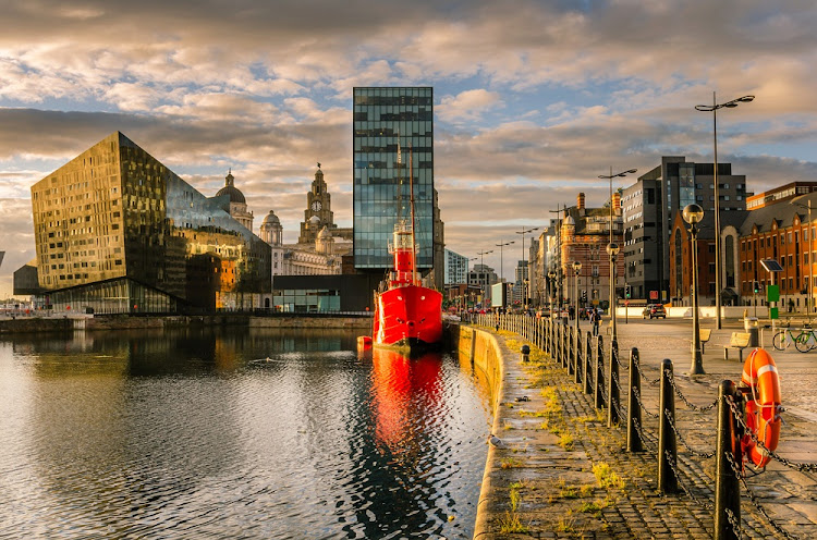 Liverpool waterfront at sunset.    Picture: ISTOCK