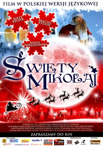 Przód ulotki filmu 'Święty Mikołaj'