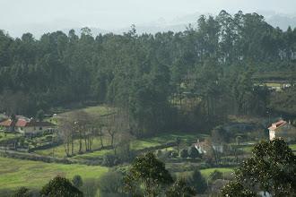 Photo: Vista dende o monte de Santa Marta, parroquia de Babío (2012)