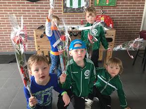 Photo: Achter: Lars en Jesse Voor: Luuk, Gijs en Sepp