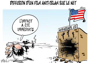 Photo: Septembre 2012 _ Diffusion d'un film anti-islam sur le net