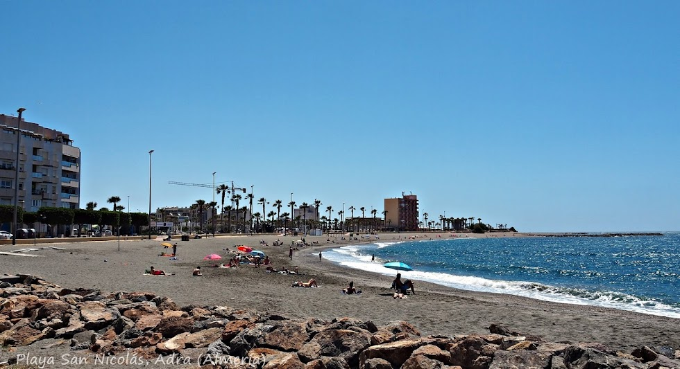 Playa San Nicolás, de Adra.