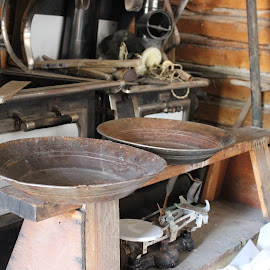 by Liz Huddleston - Artistic Objects Industrial Objects ( bannack, bannack ghost town, ghost town, montana, mining )
