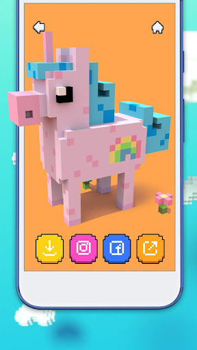 Voxel - 3D Coloring by Numbers Εφαρμογές (apk) δωρεάν download για το Android/PC/Windows screenshot