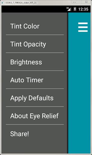 Blue Light Filter Relief
