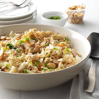 Turkey Ramen Noodle Salad.
