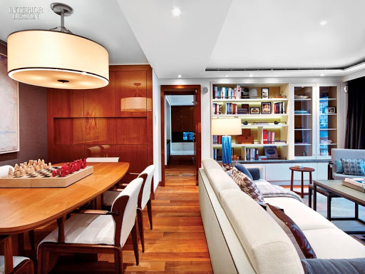Viking-Star-owners-suite-dining-area.jpg - Maple chairs, a teak dining table and other Scandivanian touches in the Owner's Suite on Viking Star.