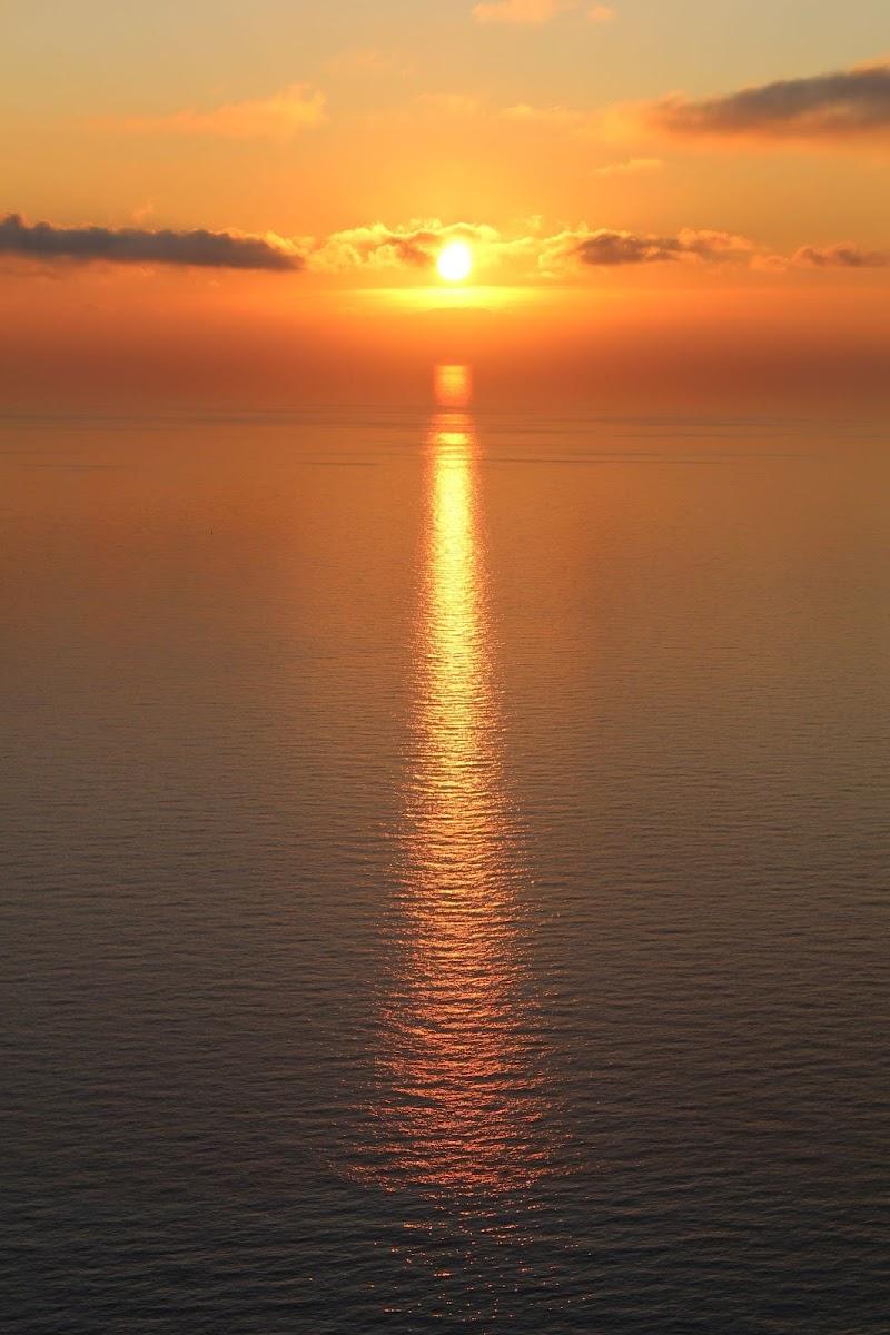 Tramonto sul mare di Bibi93