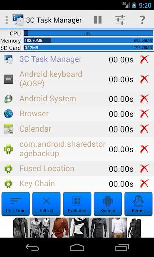3C Task Manager screenshot 2