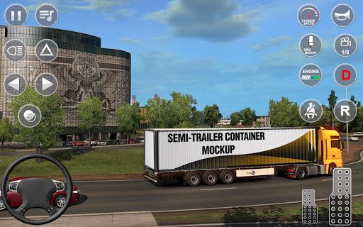 Indian Truck Offroad Cargo Drive Simulator apktram screenshots 4