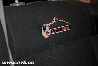 Photo: 2010 Jeep Wrangler Mountian seat logo