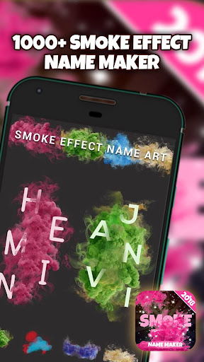 Smoke Effect Name Art Maker for PC