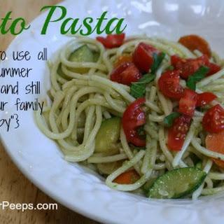 Summer Squash And Pasta