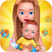 Gives birth baby games