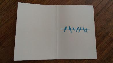 Photo: 二つ折りカード 1 (MERCI)〈中〉