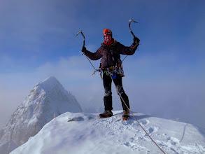 Photo: Myself on the summit of the Citadel, Alaska