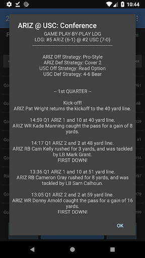 College Football Coach: Career Edition v1.2.20 {cheat|hack|gameplay|apk mod|resources generator} 4