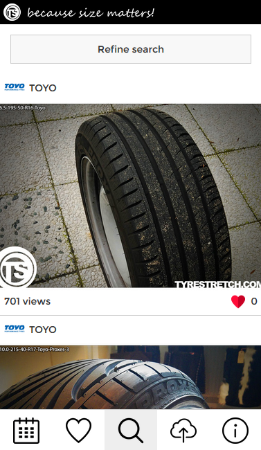 Tyrestretch.com - Size Matters- screenshot