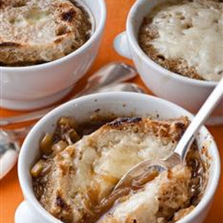 Onion & Fennel Soup Gratin