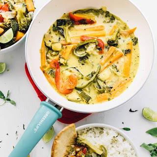 Thai Green Curry Recipe (Vegan & Gluten Free) Recipe