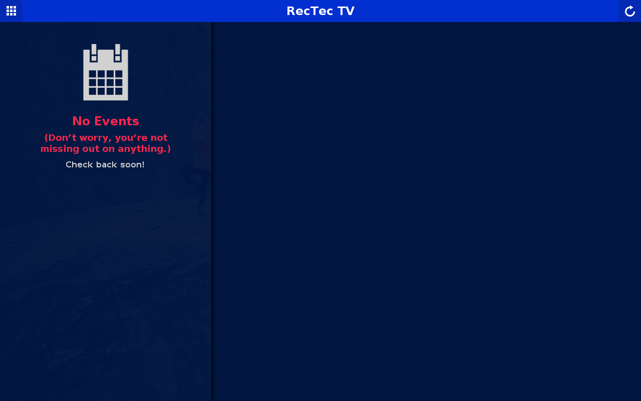 RecTec TV- screenshot