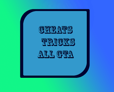 Cheats and tricks GTA - náhled