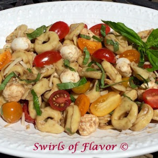 Balsamic Pasta Salad Caprese