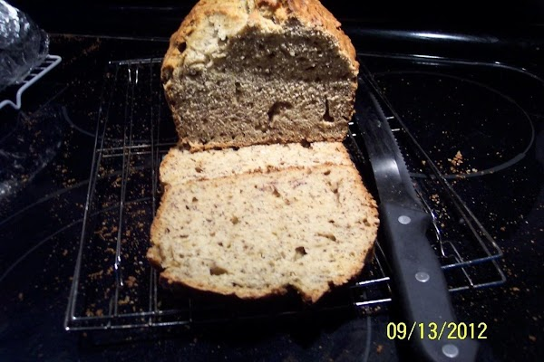 Cool 10 minutes in the pan, Loosen the sides of your bread in the pans,...