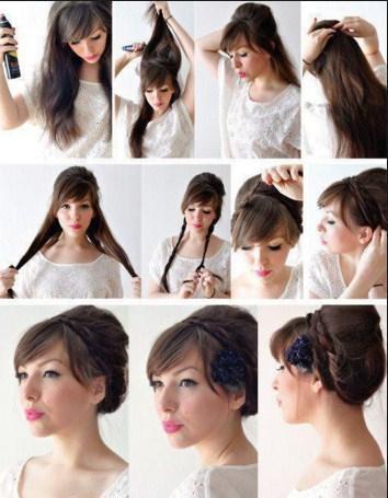 DIY Hair Tutorial Girl