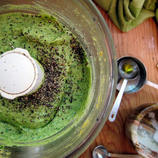 Zucchini Pappardelle & High Protein Pesto