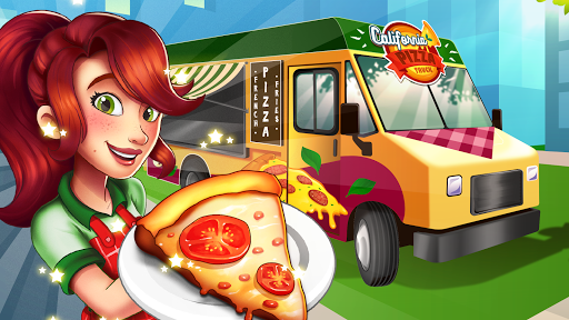 Pizza Truck California - Fast Food Cooking Game 1.0 de.gamequotes.net 5