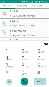 Universal Dialer plus Widget screenshot 0