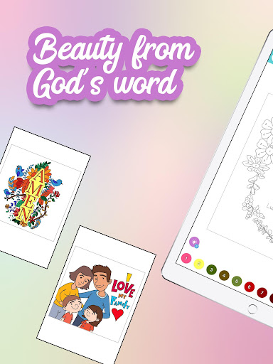 Bible Coloring - Bible Color by Number, Bible Game 20.0 screenshots 8