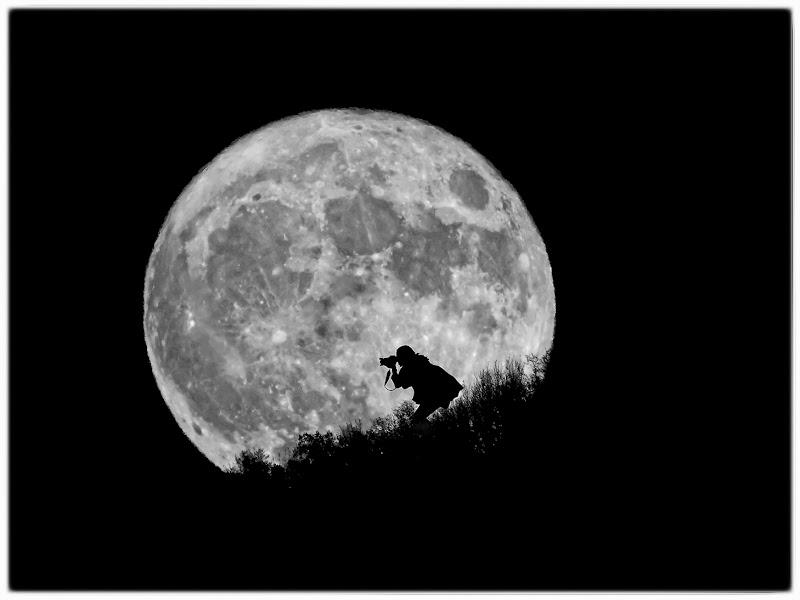 Spunta la luna dal monte ... e quell'intrusa? di FrancescoPaolo